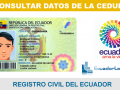 Consultar datos cédula – Registro Civil